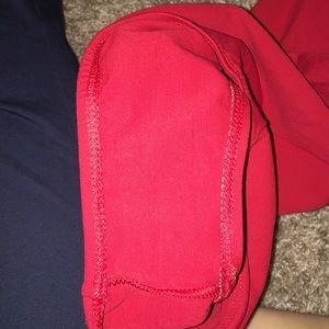 Natalie Dancewear Other - Natalie dancewear red halter leotard
